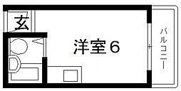 サンフォレスト布施[2階]の間取り
