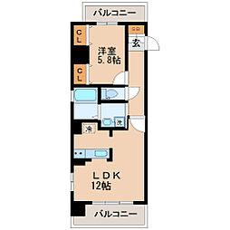 サンヴァーリオ新田駅前V[7階]の間取り