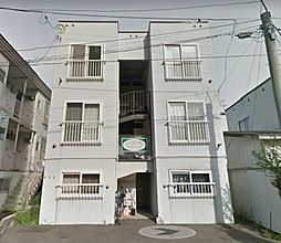 北海道札幌市東区北四十一条東6丁目の賃貸アパートの外観