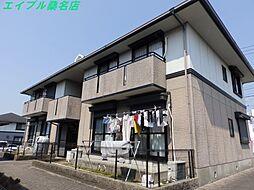 三重県桑名市大字星川の賃貸アパートの外観