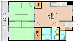 松正ビル[6階]の間取り
