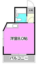 ノイ・シャルム[2階]の間取り