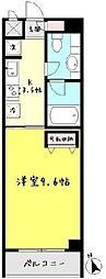 秋桜〜コスモス〜[504号室]の間取り