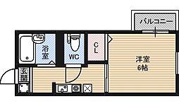 マンハイム2[2階]の間取り