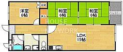 インペリアル京都[802号室号室]の間取り