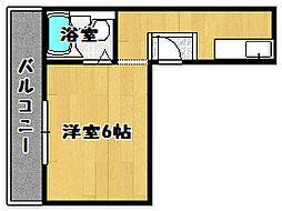 クレインファースト[4階]の間取り