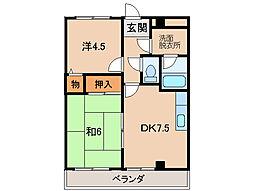 カオスマンション[3階]の間取り