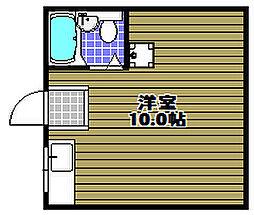 エムケイハイツ[3階]の間取り