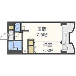 札幌ビオス館[9階]の間取り