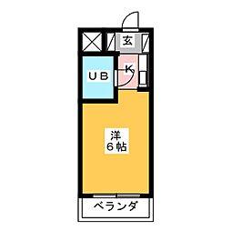 ドール滝子[5階]の間取り