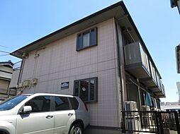 千葉県千葉市稲毛区小仲台6丁目の賃貸アパートの外観