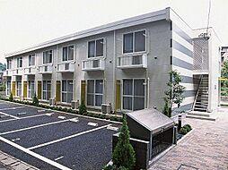 千葉県松戸市和名ヶ谷の賃貸アパートの外観