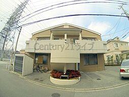 兵庫県宝塚市中筋1丁目の賃貸マンションの外観