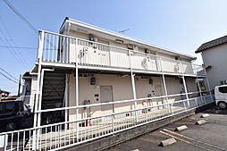 滋賀県草津市平井2丁目の賃貸アパートの外観