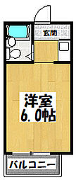 大阪府大阪市城東区永田4丁目の賃貸マンションの間取り