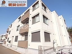 千葉県千葉市花見川区幕張本郷1丁目の賃貸アパートの外観
