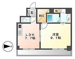 Casoneasso(カゾーネアッソ)[2階]の間取り