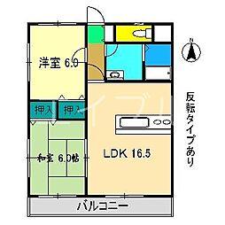 Light house[2階]の間取り