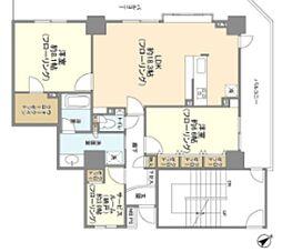 JR山手線 池袋駅 徒歩11分の賃貸マンション 28階2SLDKの間取り