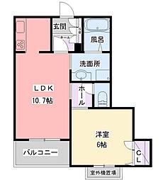 阪急神戸本線 夙川駅 徒歩5分の賃貸マンション 3階1LDKの間取り