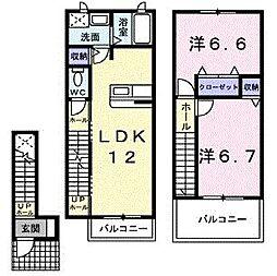 ファミ−ルコ−トK・S[0206号室]の間取り