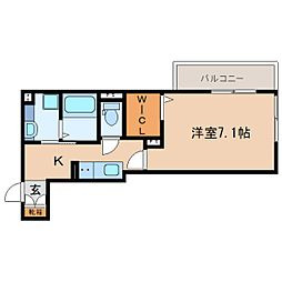 JR東海道本線 静岡駅 バス13分 南安倍町下車 徒歩3分の賃貸アパート 2階1Kの間取り