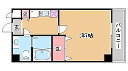 DOIマンション[20E号室]の間取り