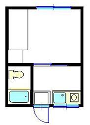 シティコーポ今宿[1階]の間取り
