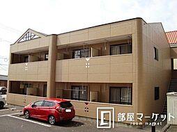 愛知県豊田市平戸橋町石平の賃貸アパートの外観