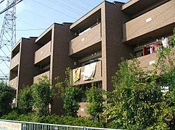 プラザハイツ二ツ屋G棟[101号室]の外観