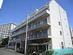 盛南マンション[1階]の外観