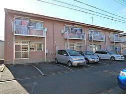埼玉県北本市北本4の賃貸アパートの外観