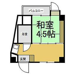 穂波第一ビル[2階]の間取り
