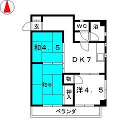 第2新瑞ビル[2階]の間取り