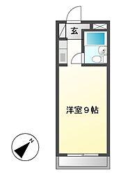 MARIYAハイツ[3階]の間取り