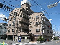 大阪府大東市北条2丁目の賃貸マンションの外観