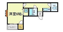 レビュアメゾン[3階]の間取り