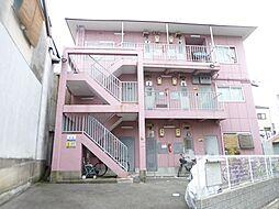 大阪府大阪市住吉区遠里小野5丁目の賃貸アパートの外観