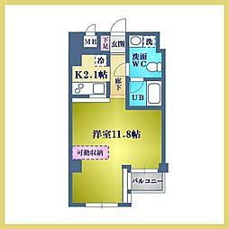 エイシャント元町[4階]の間取り