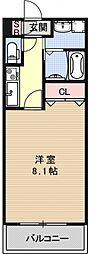 サクシード伏見京町[104号室号室]の間取り