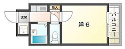 高栄マンション[2階]の間取り