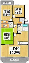 新座四季タウン[2階]の間取り