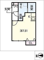 Branche葵[5階]の間取り