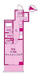 神奈川県川崎市高津区久本3丁目の賃貸マンションの間取り