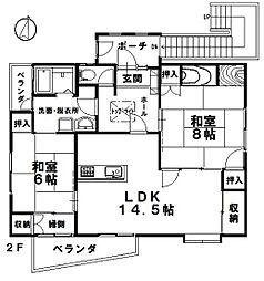 [一戸建] 兵庫県神戸市長田区丸山町1丁目 の賃貸【/】の間取り
