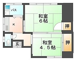 [一戸建] 静岡県三島市中島 の賃貸【静岡県 / 三島市】の間取り