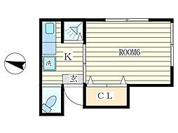 千山荘[2階]の間取り