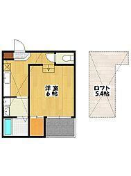 Grande本八幡[2階]の間取り