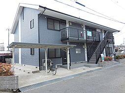 兵庫県尼崎市富松町1丁目の賃貸アパートの外観