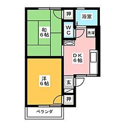 サンシャイン・エル[2階]の間取り